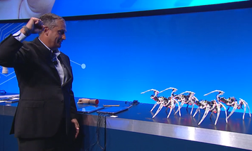 Intel's CEO Unleashes Gesture-Controlled Spiderbots