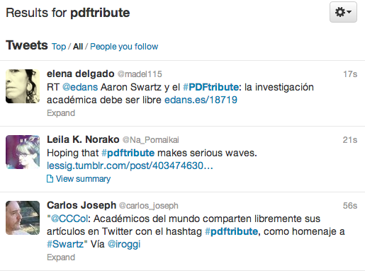 Tribute To Open-Information Activist Aaron Swartz Collects Thousands Of Links To PDFs