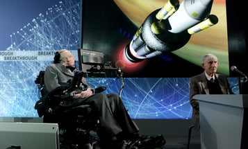 Stephen Hawking Answers Our Questions On The Breakthrough Starshot Initiative