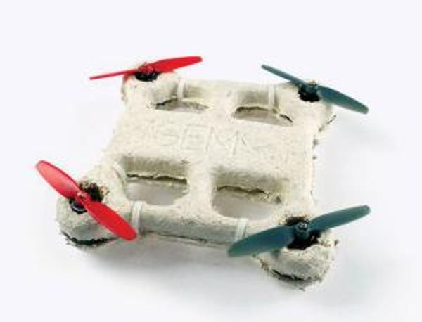Mushroom-Body Drone Biodegrades Into Almost Nothing