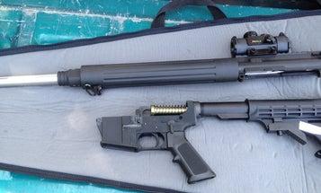 A Working Assault Rifle Made With a 3-D Printer