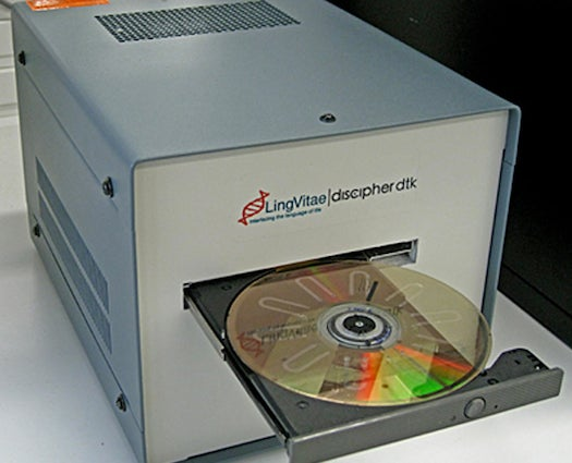 Test For HIV With A DVD Player