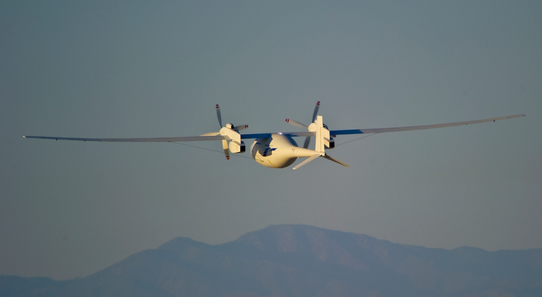 Boeing's Corpulent Hydrogen-Powered Drone Makes Its First Flight