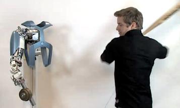 Video: German Researchers Smash Robot Arm With a Baseball Bat