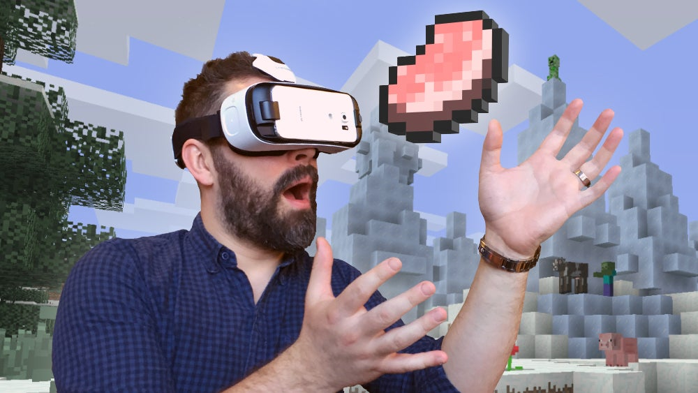 You Can Now Play Minecraft In Virtual Reality