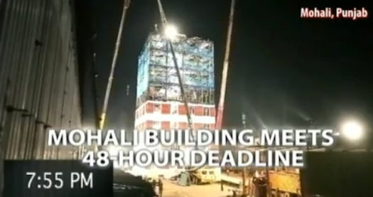 Watch A 10-Story Building Go Up In Two Days