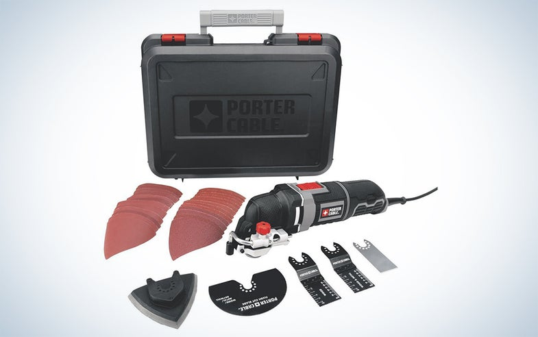 PORTER-CABLE oscillating multi-tool kit