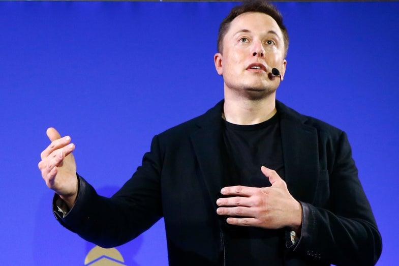 Elon Musk speaks ahead of COP 21 Paris Climate Talks