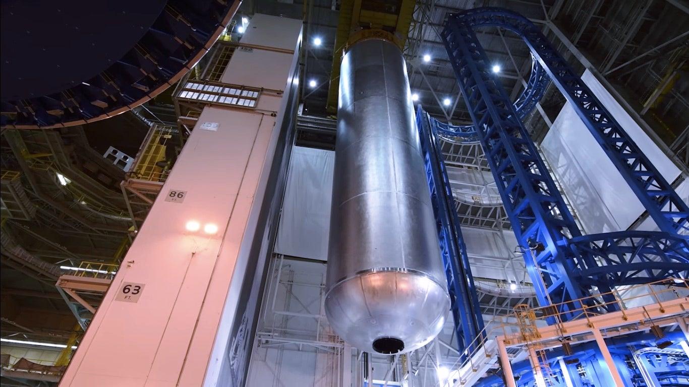 NASA Rocket Tank Build