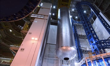 Watch A New NASA Fuel Tank Be Built In One Minute