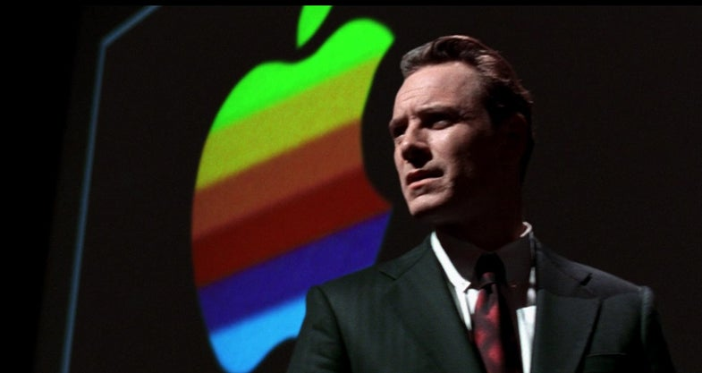 "Michael Fassbender as Steve Jobs in ""Steve Jobs"""