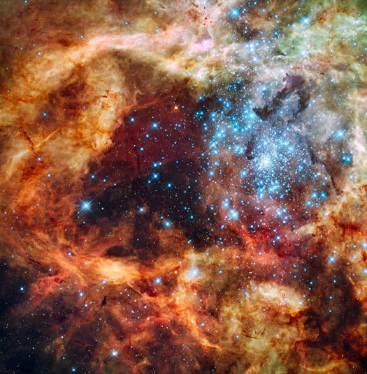 Hubble Snaps Astral Christmas Tree Just In Time For Holidays