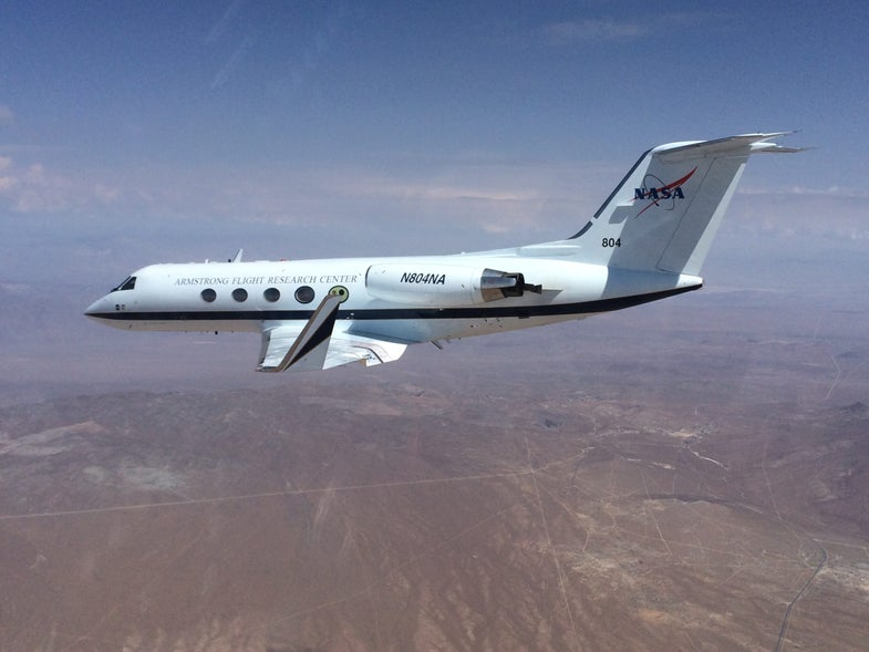 Gulfstream With Flex Wings