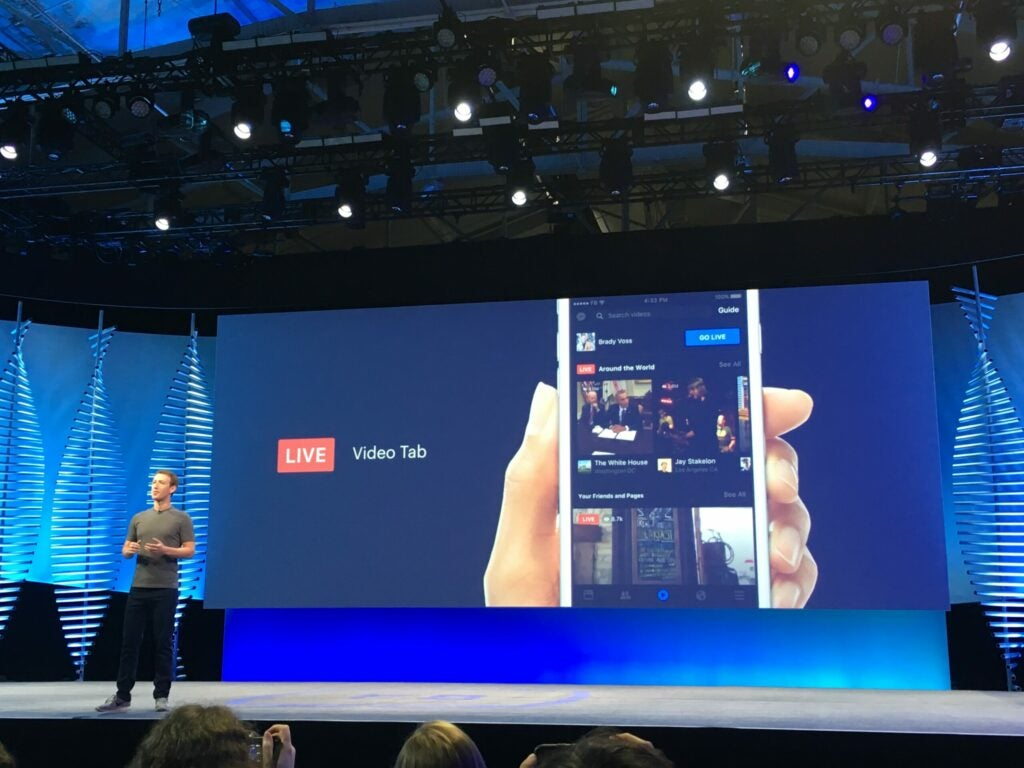 Facebook's Live video feature will get a dedicated tab in the Facebook app.