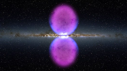 Astronomers Find Massive, Previously Undetected Gamma Radiation Bubbles Adorning the Milky Way