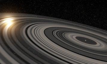 'Super Saturn' Exoplanet Has Massive Rings