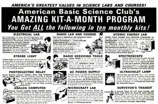 Kit-a-Month Program: November 1969