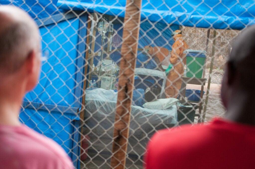 Ebola treatment unit