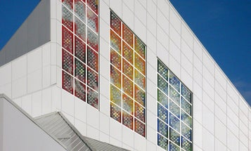 Stained Glass That Doubles As A Solar Power Source