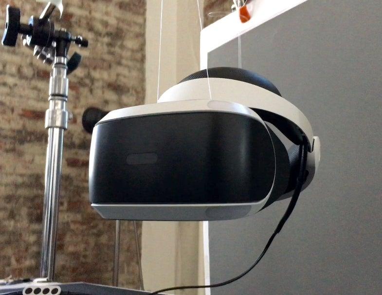 Playstation VR model headset