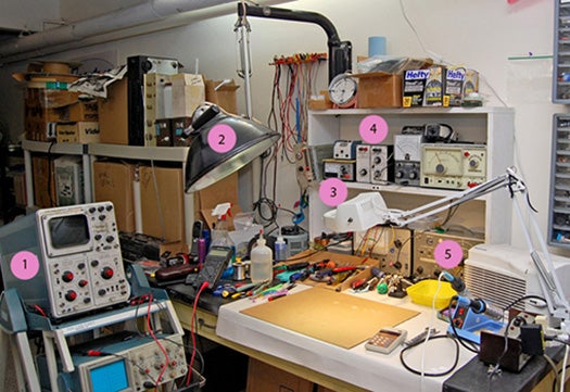 Blanche's workshop