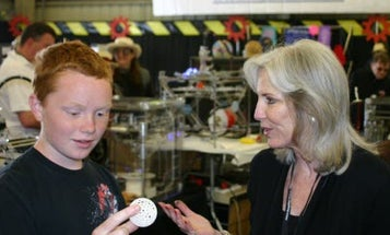 13-Year-Old Riley Lewis and His Crew Embrace 3-D Printing at Public School