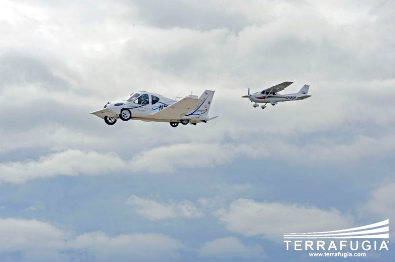 Terrafugia's 'Roadable Aircraft' Receives Regulatory Clearance Again, This Time for the Road