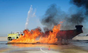 BigPic: An Aircraft-Fire Simulator Goes Up In Smoke