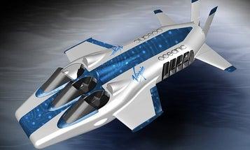 Richard Branson Unveils Bond-Style Deep-Sea Submarine