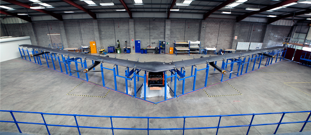 Facebook Finally Reveals Its Own Internet Drone, And It's Huge