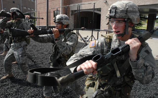 Bayonet Skills to be Omitted from Basic Training for Modern Soldiers