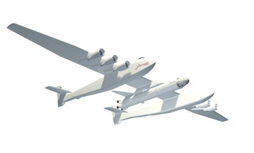 Brand-New Stratolaunch, the Biggest Plane in the World, Could Replace the Space Shuttle