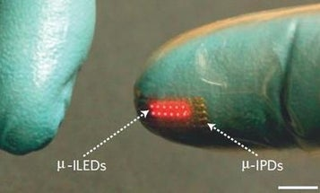 Bored By Non-Glowing Skin? Ultra-Flexible, Waterproof LED Implants Are What You Seek