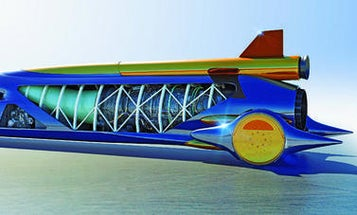 At Last, Construction Begins This Week On the 1,000 MPH Bloodhound Rocket-Car