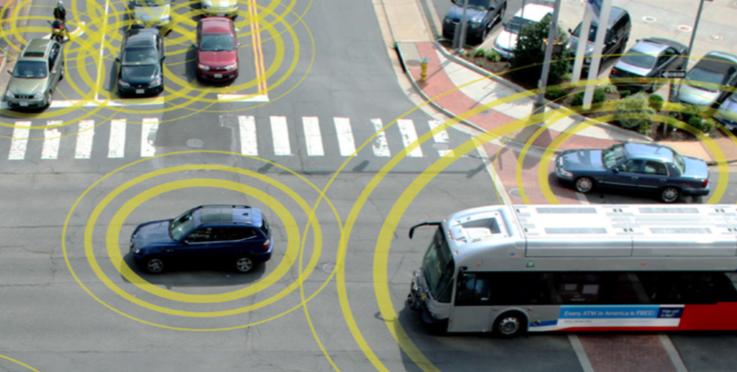 Visualization of vehicle communication
