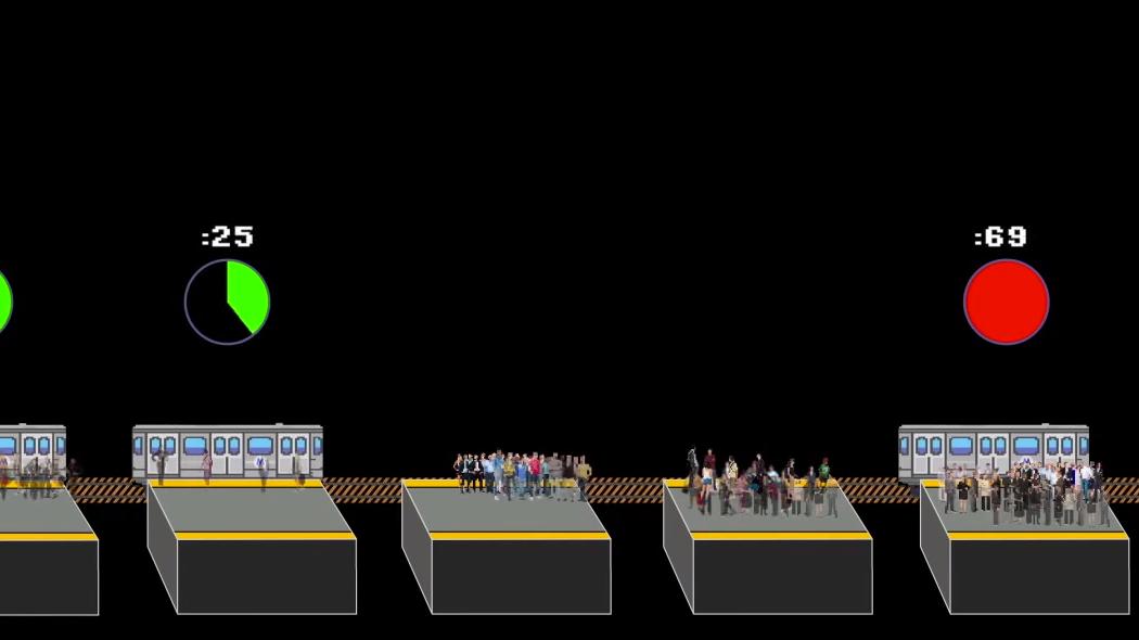 How Delaying A Subway Train Fixes A Subway Delay