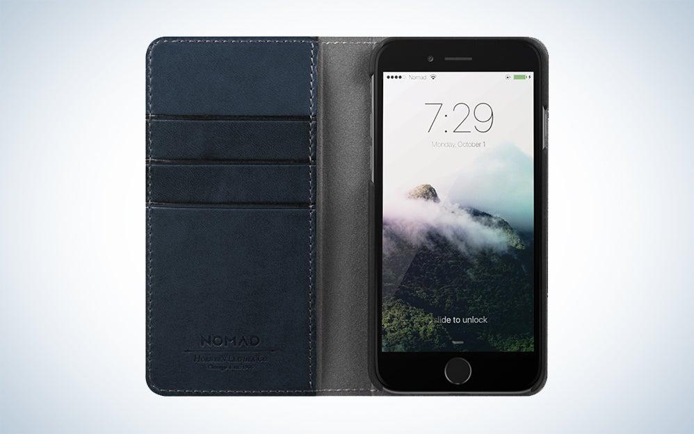 Hello Nomad Midnight Blue iPhone case