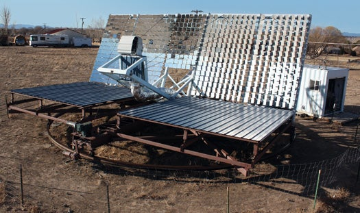 A Five-and-a-Half-Ton Solar Array for a Better Cup of Joe