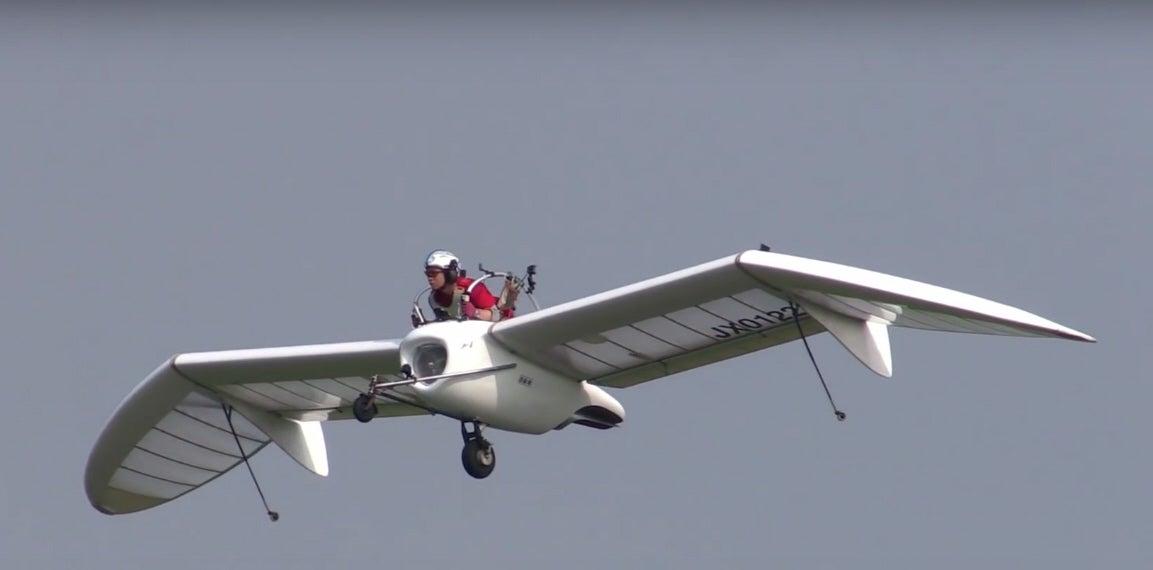 Miyazaki-Inspired Jet Glider Flies Before Crowds In Japan