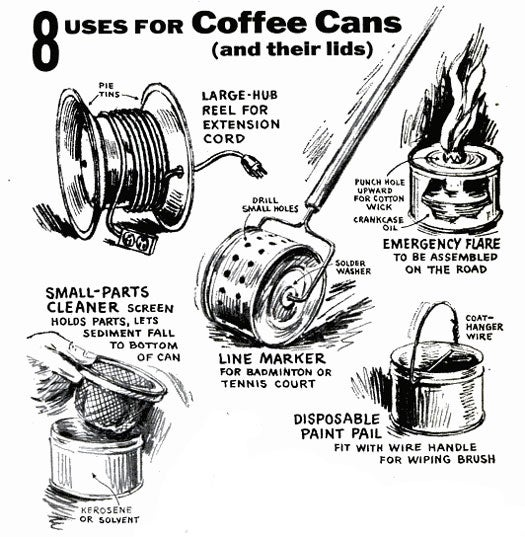 Coffee Cans: October 1957