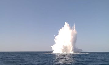 Watch Italian Robots Destroy Underwater WWII Explosives