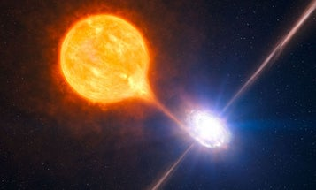 Very Large Telescope Finds Very Tiny Black Hole Blowing Most Massive Fiery Space Bubble