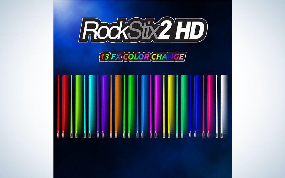 Rockstix 2 light up drumsticks