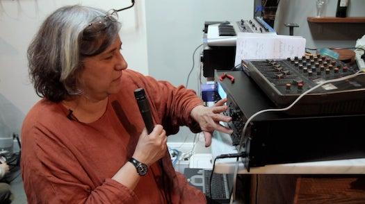 Video: Sound Artist Liz Phillips Makes A Screamin' Meal