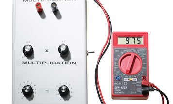 Go Analog With A Resistance-Based Calculator