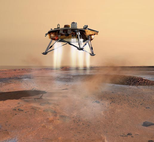 NASA Tweaks a Spacecraft's Path en Route to Mars