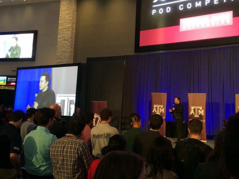 Behind the Scenes at SpaceX's Hyperloop Pod Competition