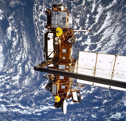 NASA's Falling UARS Satellite Found in Remote South Pacific