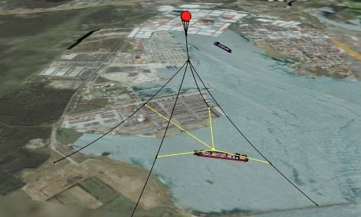 Robotic Balloon Cranes Could Turn Any Shore Into a Seaport