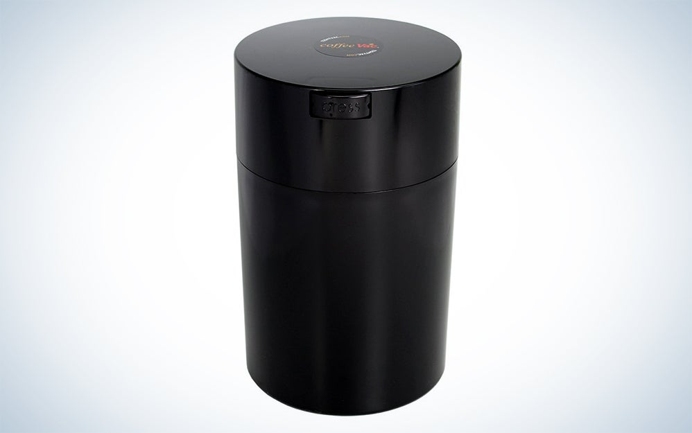 Coffeevac airtight storage container